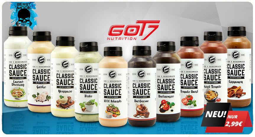 got7 classic saucen neu günstig in deutschland kaufen