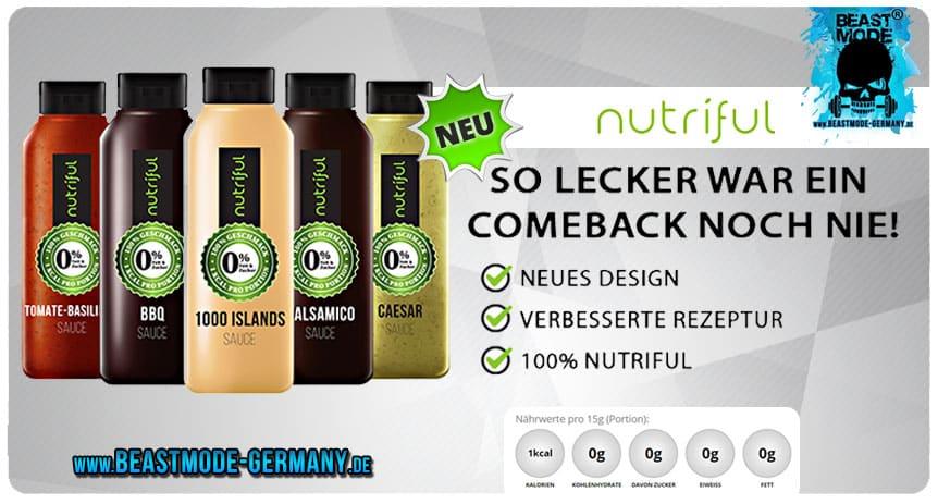 Nutriful neue Saucen Design Relaunch günstig in Deutschland kaufen
