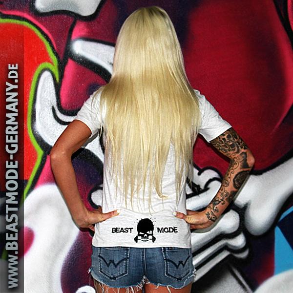 Beastmode Damen T-Shirt Beastmode Rückansicht