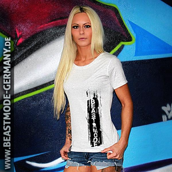 Beastmode Damen T-Shirt Beastmode Vorderansicht