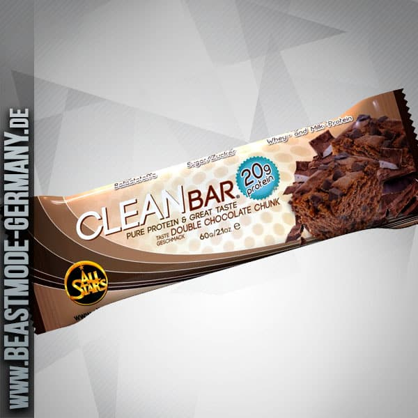 Beastmode Allstars CleanBar-Double-Chocolate-Chunk