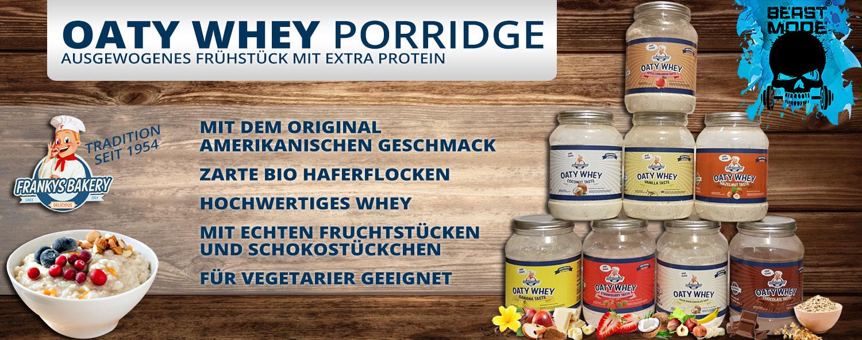 Franky´s Bakery Oaty Whey Porridge
