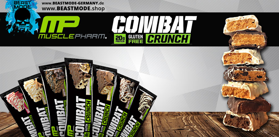 Muscle Pharm Combat Crunch