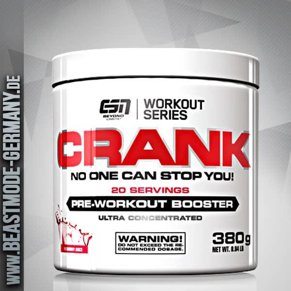 ESN Crank Pre Workout Booster 380g