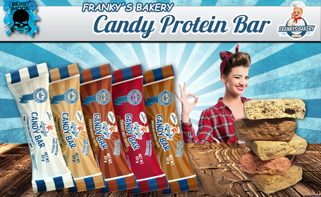 Frankys Bakery Candy Bar
