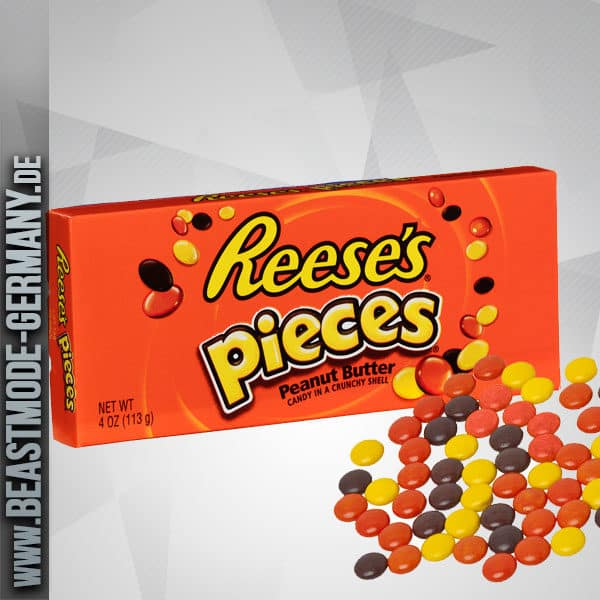 Reeses Pieces Candy Big Box 113g Beastmode Germany Shop