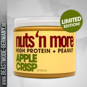 Nuts N More High Protein Apple Crisp Peanut Butter 454g