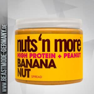 Nuts N More High Protein Banana Nut Peanut Butter 454g