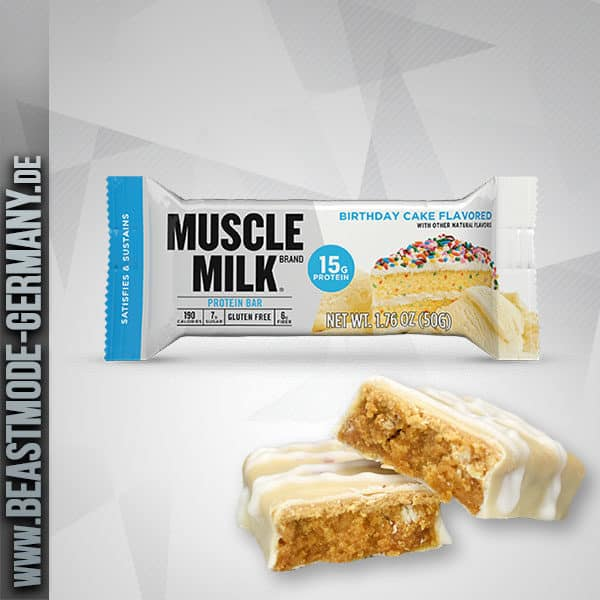 Cytosport Muscle Milk Blue Bar Birthday Cake 50g