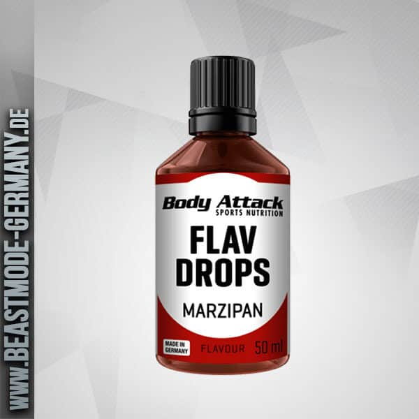Body Attack Flav Drops Marzipan 50ml